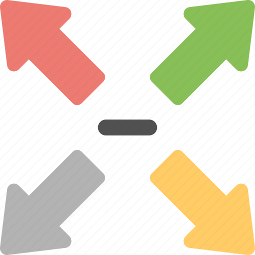 compression, image resizing, minimizing, picture decreasing, reducing icon