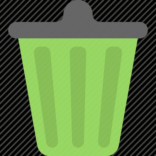 basket, dustbin, garbage can, recycle bin, trash bin icon