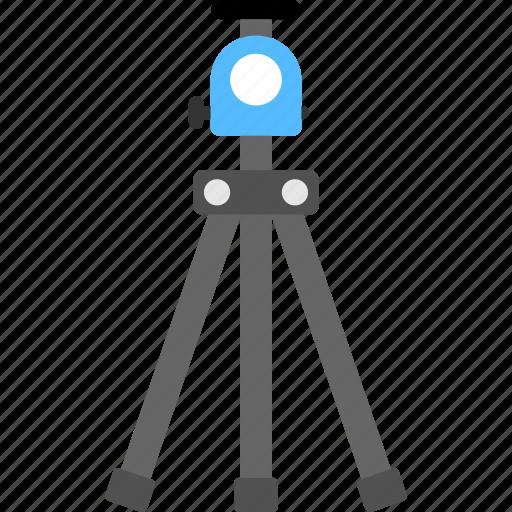 camera on tripod, digital cam, dslr, professional camera, reflex photographer icon