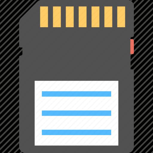 data storage card, flash card, memory card, memory storage, sd card icon