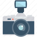 camera, camera flash, camera flash light, photography icon