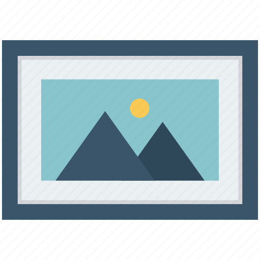 gallery, image, landscape, photo, photography, picture, scenery icon