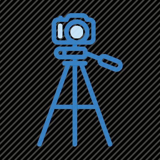 camera, photo, photography, tripod icon