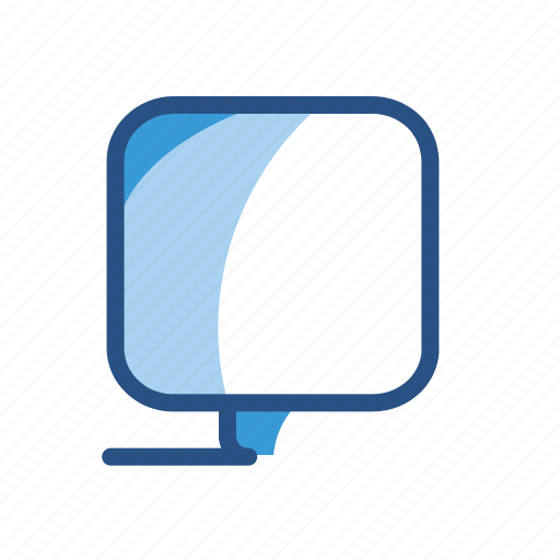 computer, device, electronic, monitor icon