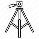 camera, mount, tripod icon