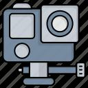 action, adventure, cam, camera icon