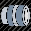 camera, lens, photo