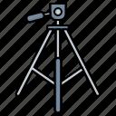 camera, mount, tripod