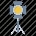 fame, light, lights, spotlight icon