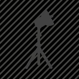 light, lights, photo, photography, set, stand, studio icon