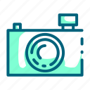 camera, compact, lens, photography, pocket icon