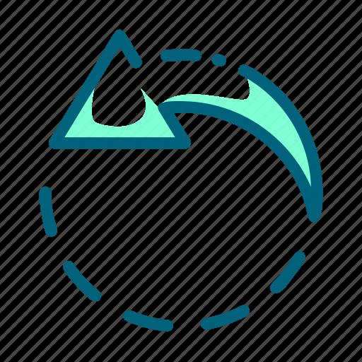 camera, image, left, picture, rotate icon