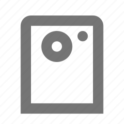 camera, device, smartphone icon