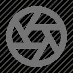 exposure, shutter icon