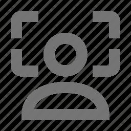 focus, photo icon