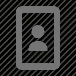 photo, portrait icon