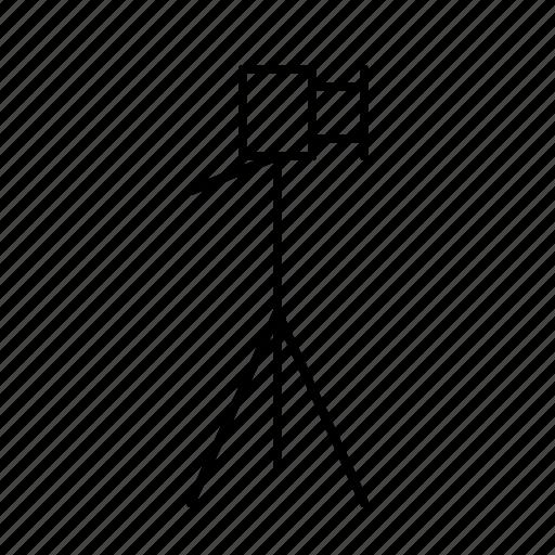 photo, photographer, photography, studio, tripod icon