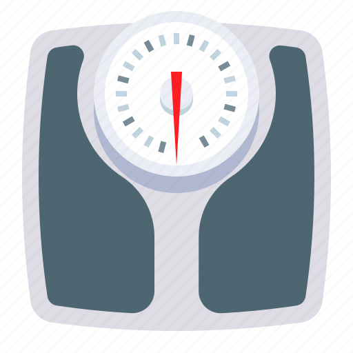 bathroom, fitness, scales, weight icon