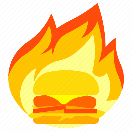 burn, calories, fire, fitness icon