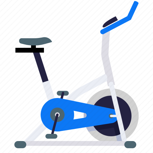 bicycle, exercycle, fitness, stationary icon