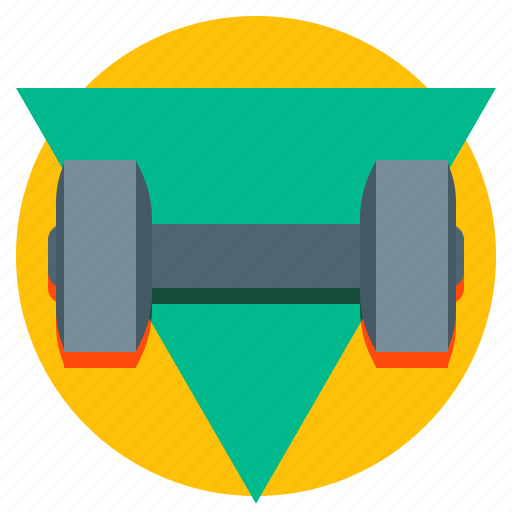 dumbbell, fitness, gym, sport icon