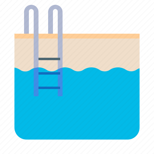 fitness, pool, swimming, water icon