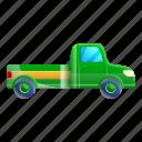 car, christmas, green, pickup, tree