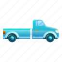 blue, business, car, pickup, retro