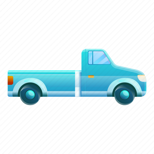 Blue, business, car, pickup, retro icon - Download on Iconfinder