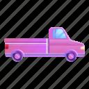 car, colorful, pickup, pink, retro, sport