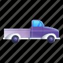 business, car, family, pickup, purple, sport