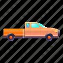 side, vintage, pickup, retro, car
