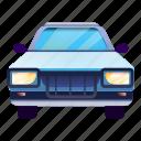 blue, business, car, front, pickup