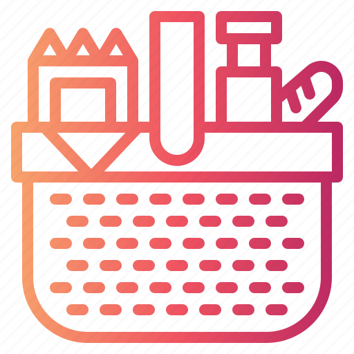 Basket, camping, picnic icon - Download on Iconfinder