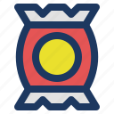 chips, holiday, jaunt, picnic, snake, summer icon