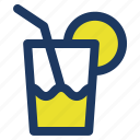 drink, holiday, jaunt, lemon, lemonade, picnic, summer icon