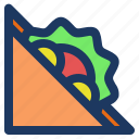 food, holiday, jaunt, picnic, sandwich, summer icon