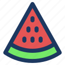 fruit, holiday, jaunt, picnic, summer, watermellon icon
