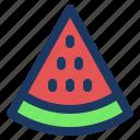 fruit, holiday, jaunt, picnic, summer, watermellon icon