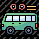 automobile, car, holidays, transport, travel, van, vehicle icon