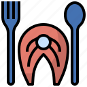 beef, food, grill, meal, meat, pork, steak icon