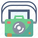 camera, camping, digital, interface, photo, picture, technology icon