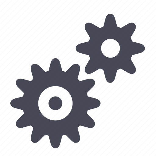 gear, gears, manage, preferences, services, settings icon