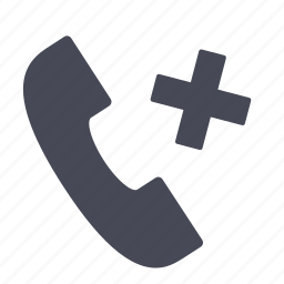 call, hold, missed, missing, phone, telephone icon