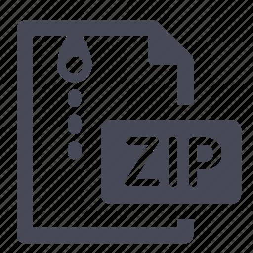 archive, compress, compressed, file, rar, winzip, zip icon