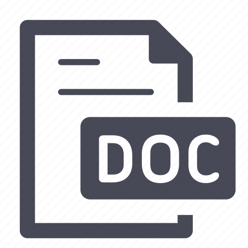Doc, document, docx, file, office, text, word icon - Download on Iconfinder