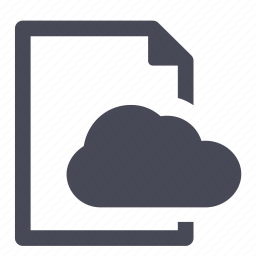cloud, document, file, network, online, share icon