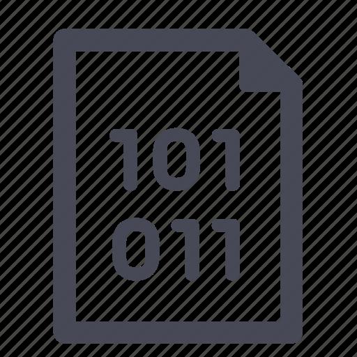 binary, c++, code, coding, source icon