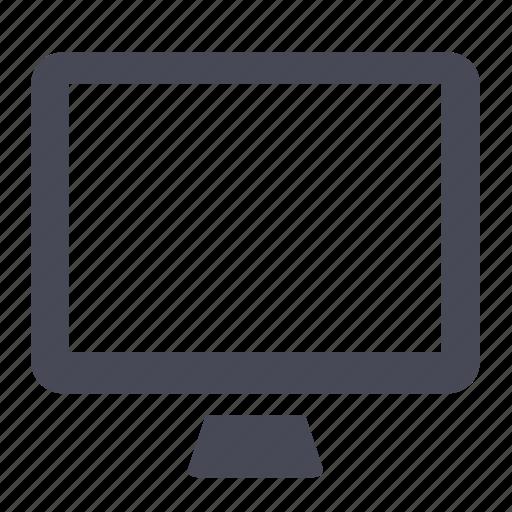 computer, desktop, display, lcd, monitor, screen icon
