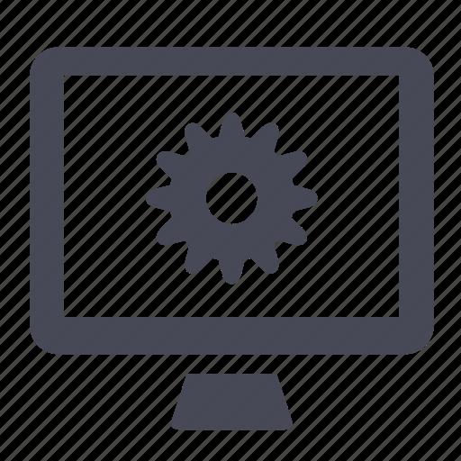 control, desktop, manage, preferences, screen, tools icon